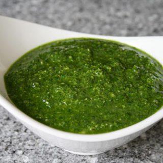 Easy Basil Pesto Sauce
