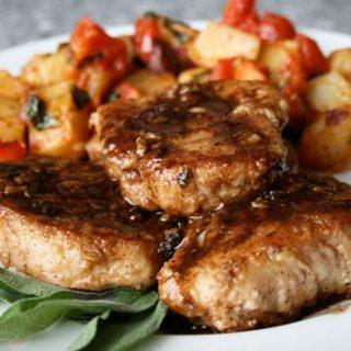 Pork Chops In Balsamic Vinegar