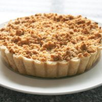 Apple Tart With Crumb Topping