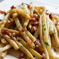 Roasted Butter Beans With Pancetta