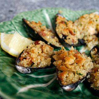 Breaded Mussels
