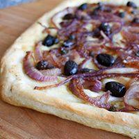 Onion & Black Olive Focaccia