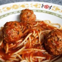 Nonna's Spaghetti And Meatballs