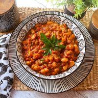 Fresh Stewed Borlotti Beans
