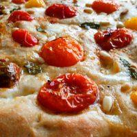 Heirloom Tomato & Mozzarella Fococcia