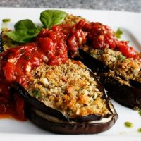 Individual Eggplant Parm Packages