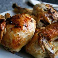 Roast Chicken With Lemon, Garlic & Rosemary
