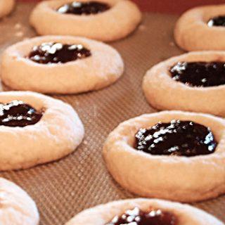 Mascarpone Fig Jam Cookies