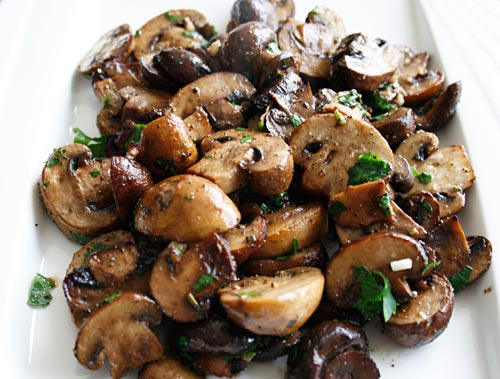 Roasting mushrooms brings out their natural earthiness, enhancing their flavor.