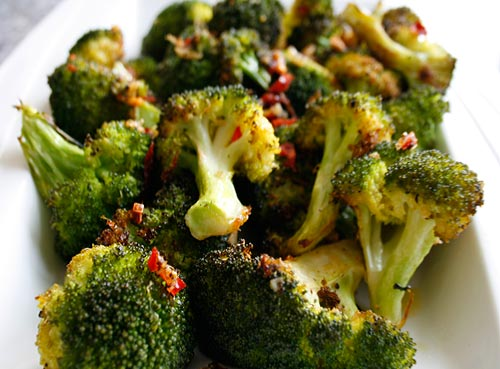 This roasted broccoli dish can be assembled in minutes, and is a great side dish for any meat or seafood dish.