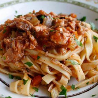 Meaty Chicken Ragù
