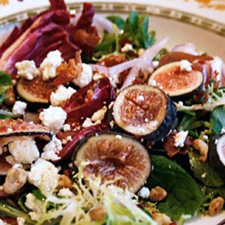 Fig, Prosciutto And Goat Cheese Salad