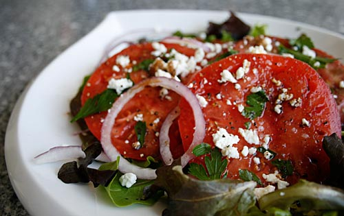 This is an easy recipe, but for best results use fresh, ripe, tomatoes.
