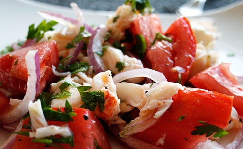 A great salad for warm weather dining.