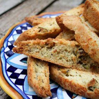 Savory Parmesan Biscotti