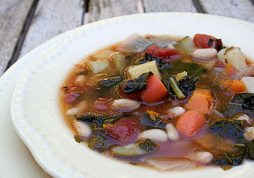 This soup is so full of healthy vegetables it is like a multivitamin in a bowl!