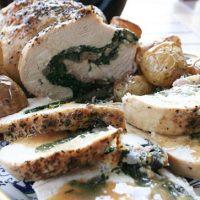 Spinach And Prosciutto Stuffed Turkey Breast