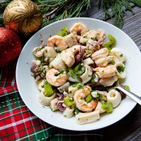 Holiday Seafood Salad