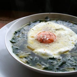 Italian Peasant Soup With Greens