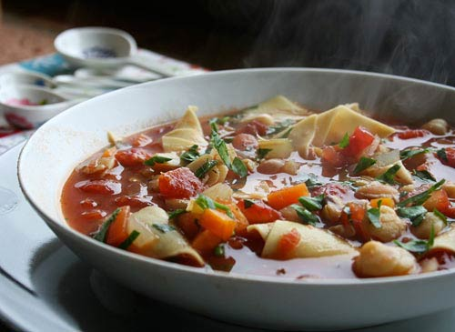 A traditional soup from the Molise region.