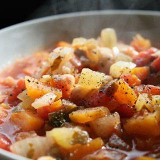 Zuppa di Fagiole e Zucca