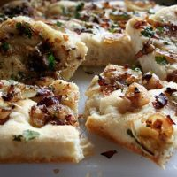 Onion And Guanciale Focaccia