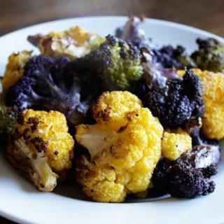 Lemony Oven Roasted Cauliflower