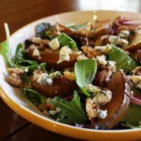 Chicken, Gorgonzola, Pear, And Walnut Salad