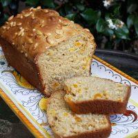 Apricot, Pine Nut & Ginger Breakfast Bread