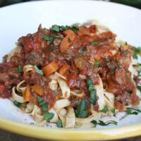 Hearty Lamb Ragù