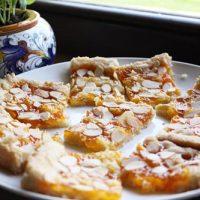 Apricot Almond Slices