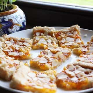 Apricot Almond Slices
