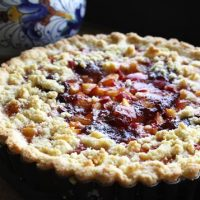 Fresh Plum Crostata