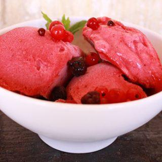 Plum Berry Sorbet