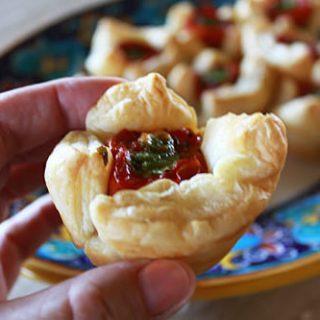 Tomato Ricotta Bites