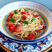 Cherry Tomato Vodka Pasta