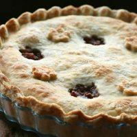 Fig, Apple & Walnut Pie