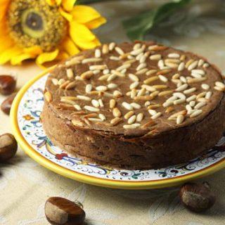 Castagnaccio ~ Tuscan Chestnut Cake