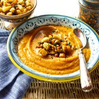 Roasted Pumpkin And Pear Soup