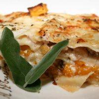 Butternut Squash Sausage Lasagna