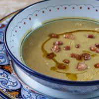 Zuppa di Ceci ~ Creamy Chickpea Soup