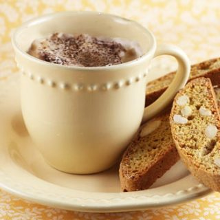 Ginger Orange Biscotti With Almonds
