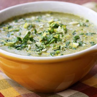 Broccoli Bisque With Gremolata