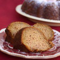 Roasted Applesauce Cake