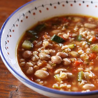 Farro Bean Soup