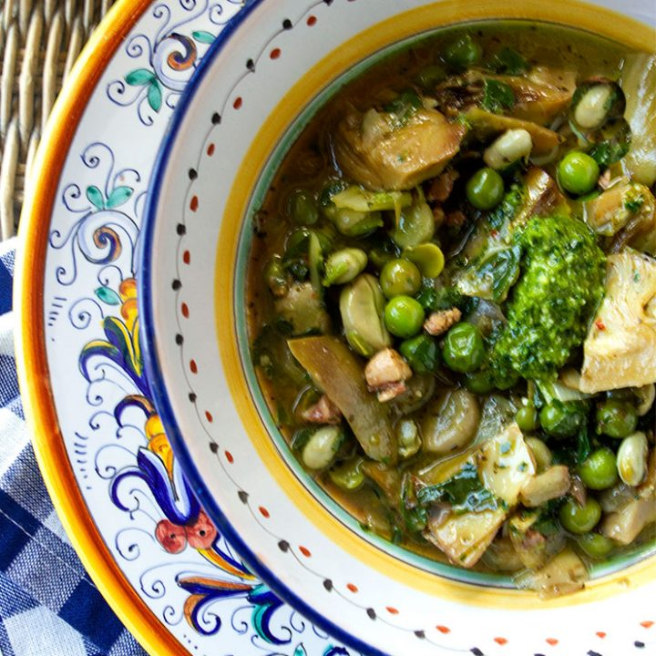 Vignole ~ Spring Vegetable Stew