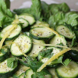 Carpaccio di Zucchini