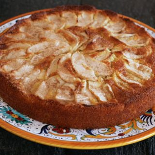 Rustic Apple Top Cake