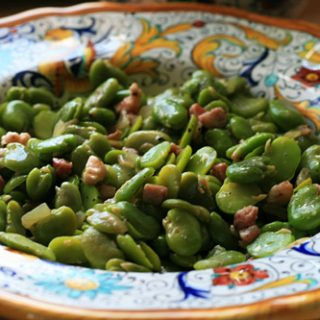 Fava Beans With Pancetta