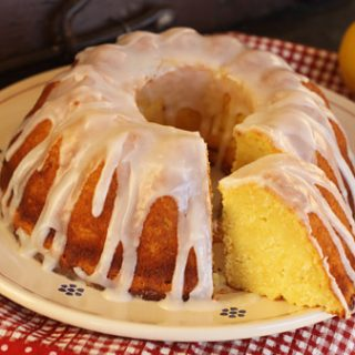 Ricotta Cake With Lemon Glaze